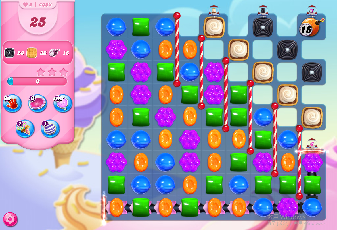 Candy Crush Saga level 4058