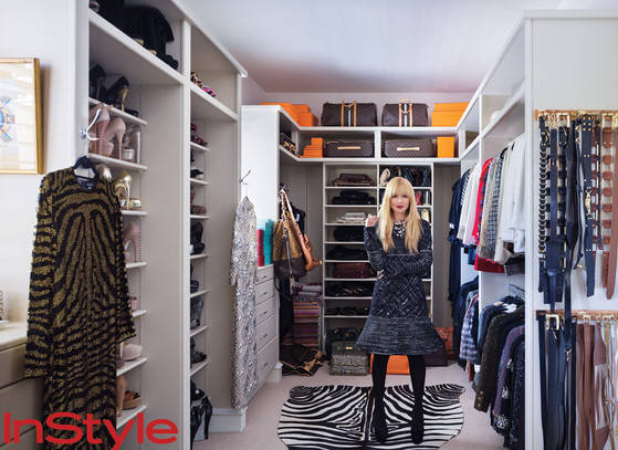 Rachel Zoe luxury fantasy closet