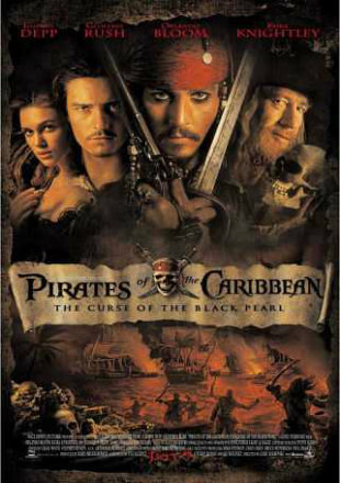 Pirates of the Caribbean The Curse of the Black Pearl 2003 BRRip Dual Audio 720p Watch Online Full Movie Download bolly4u