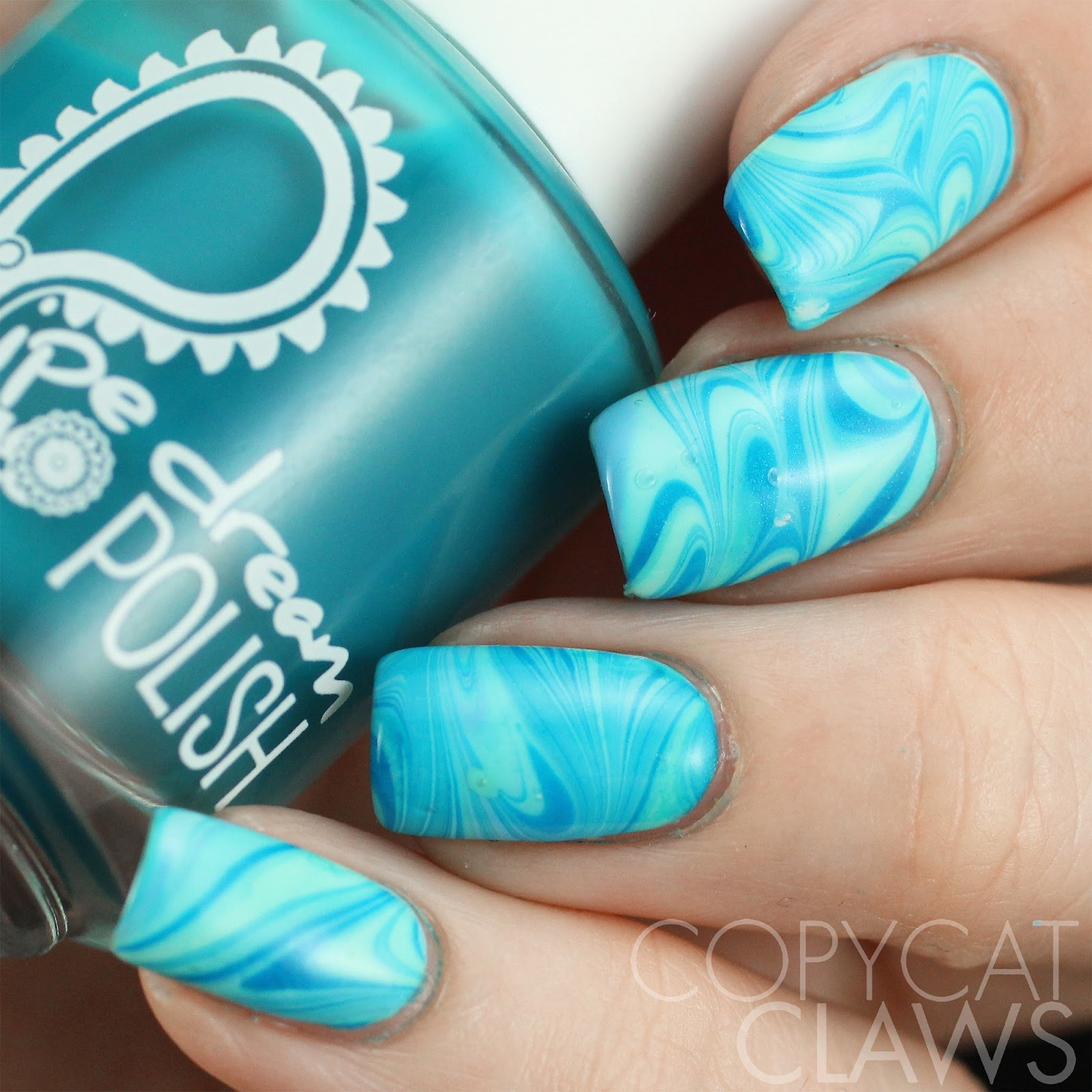 Copycat Claws: 26 Great Nail Art Ideas - Water