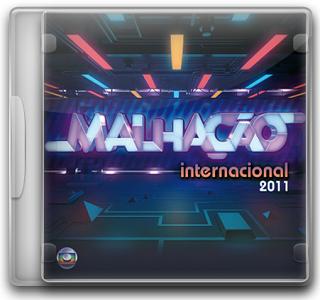 Capa CD Malhação   Internacional 2011