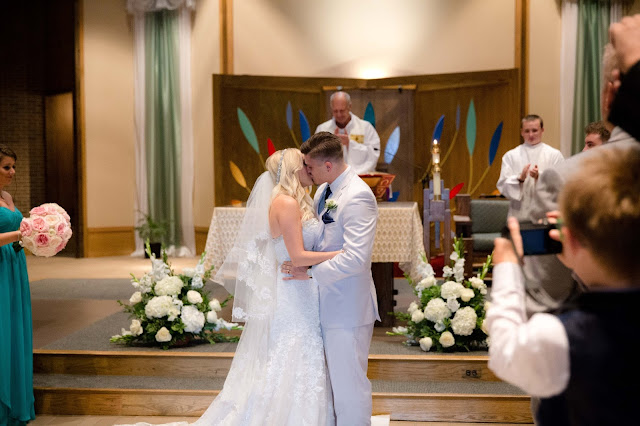 First Kiss at St. Malachy Catholic Church
