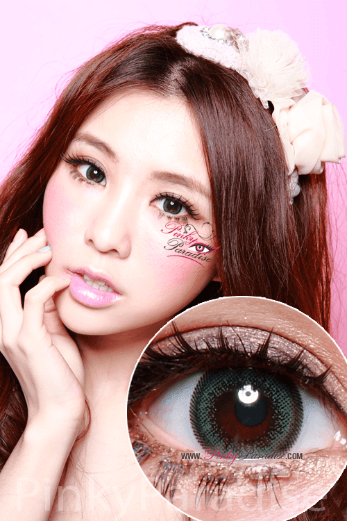 Geo Olive Wing Circle Lenses (Colored Contacts)
