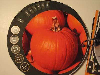 Scrapbook mini álbum Halloween
