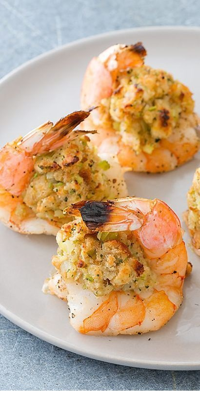 Oven Baked Stuffed Shrimp Recipe