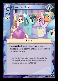 My Little Pony Join the Herd Defenders of Equestria CCG Card
