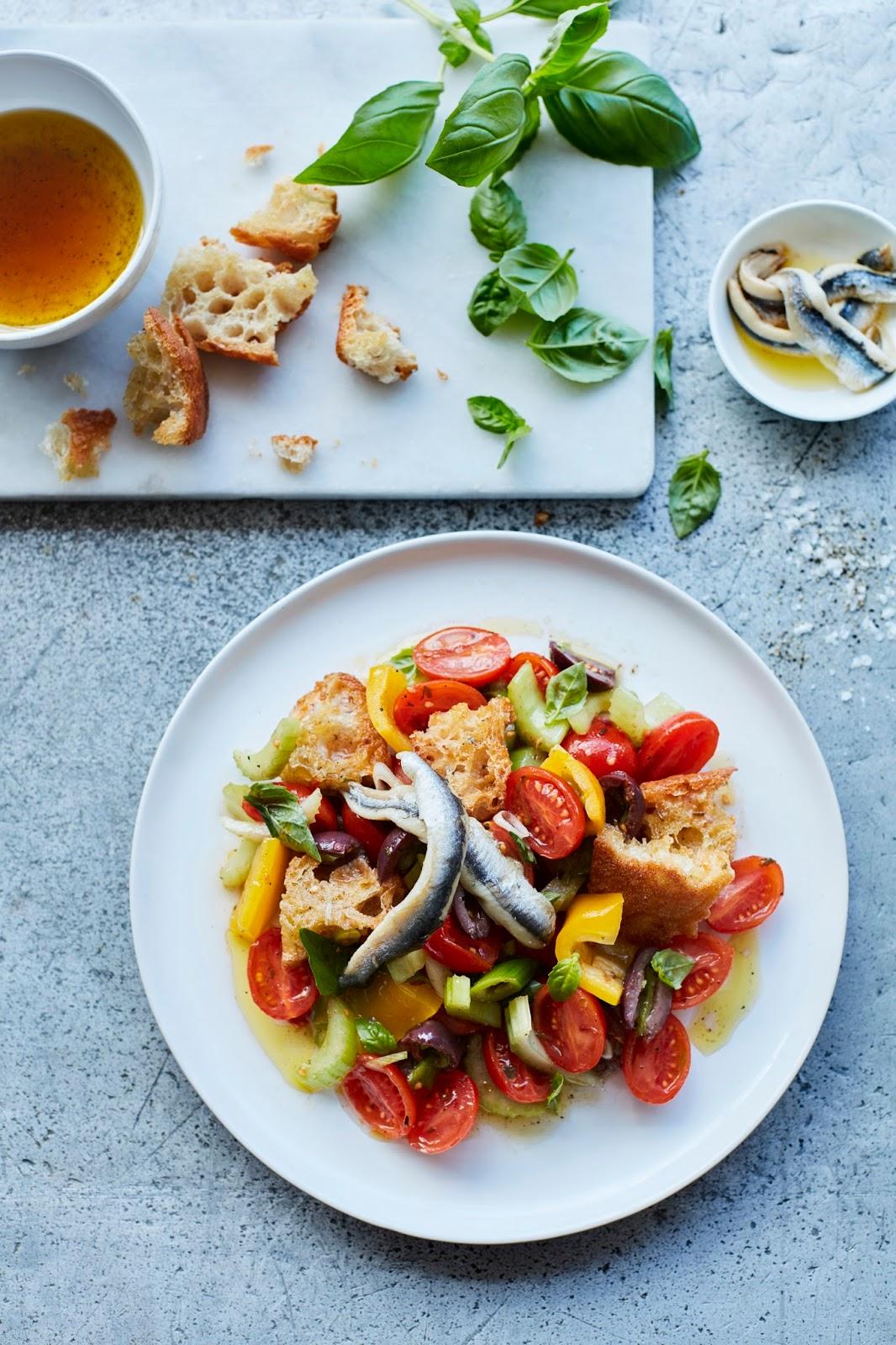 How To Make A Panzanella Salad