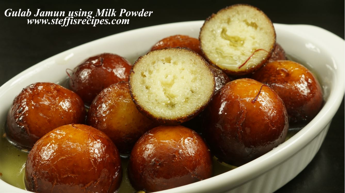 Gulab jamun recipe with milk powder steffis recipes gulab jamun recipe with milk powder how to make gulab jamun at home forumfinder