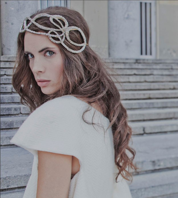 Hermosos tocados de novias | Colección Lia Terni