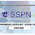CARA MENAMBAH DEPOSIT SSPN-i / SSPN-i Plus MELALUI ONLINE BANKING