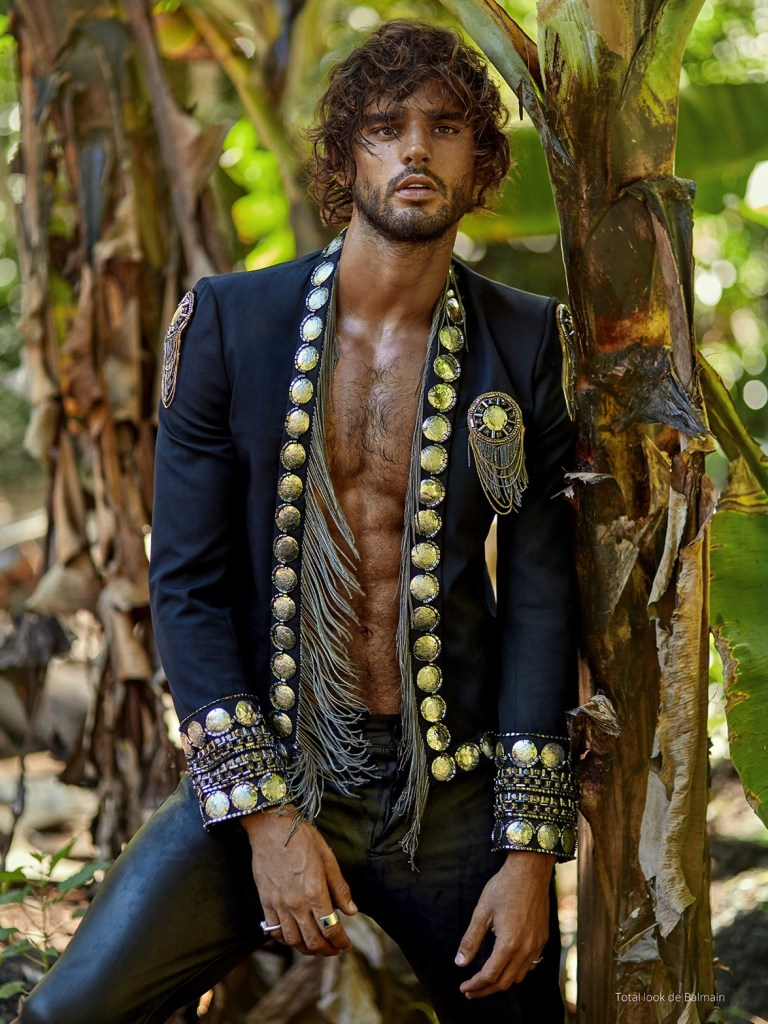 MARLON TEIXEIRA FOR RISBEL #8 COVER STORY