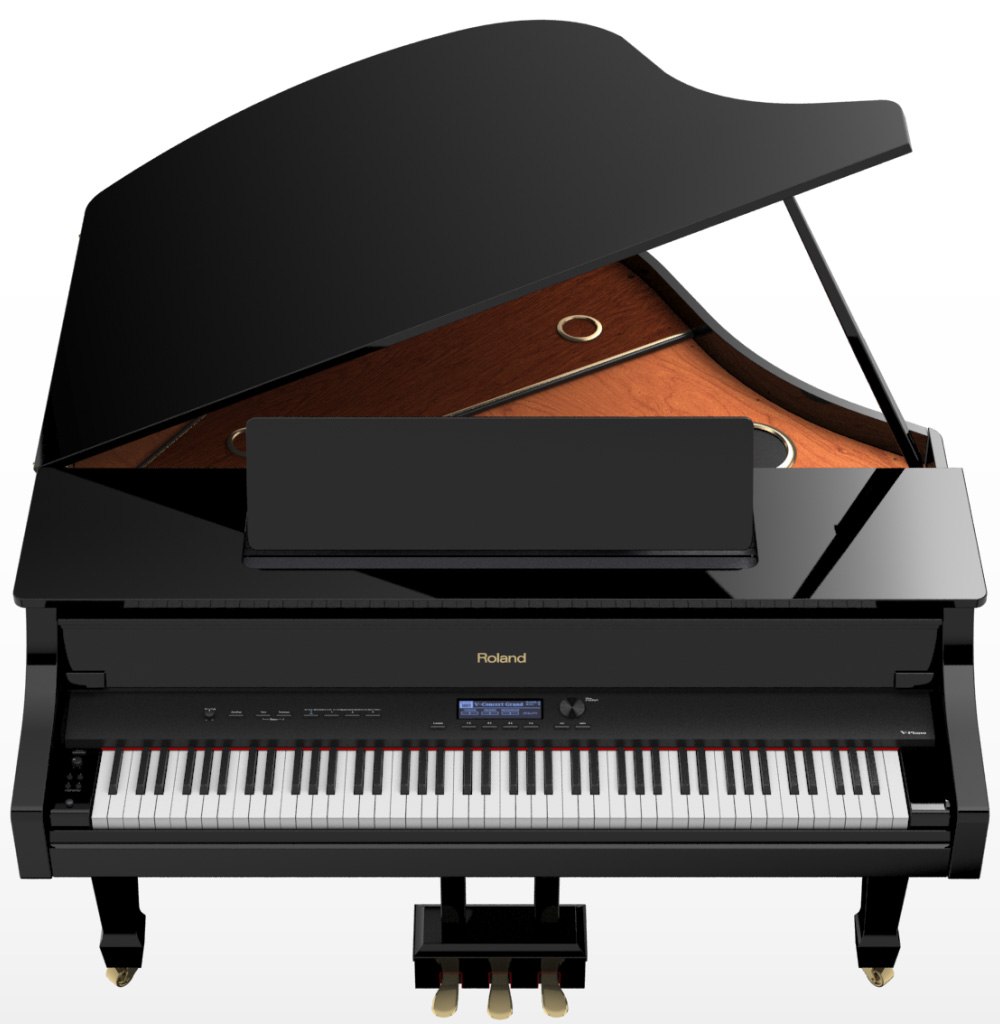 Roland HP603 HP605 LX7 LX17 Piano REVIEW