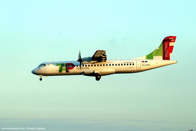 TAP EXPRESS - CS-DJC - ATR 72-600 - LPPT