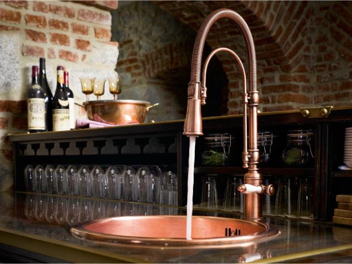 Speciale cucina come scegliere il rubinetto per il - Lavandini x cucina ...
