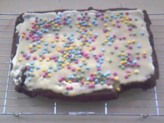 Morrisons Tray Bake Cake