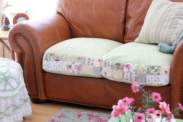 Maison Decor Quilt Slipcovers For Leather Sofa