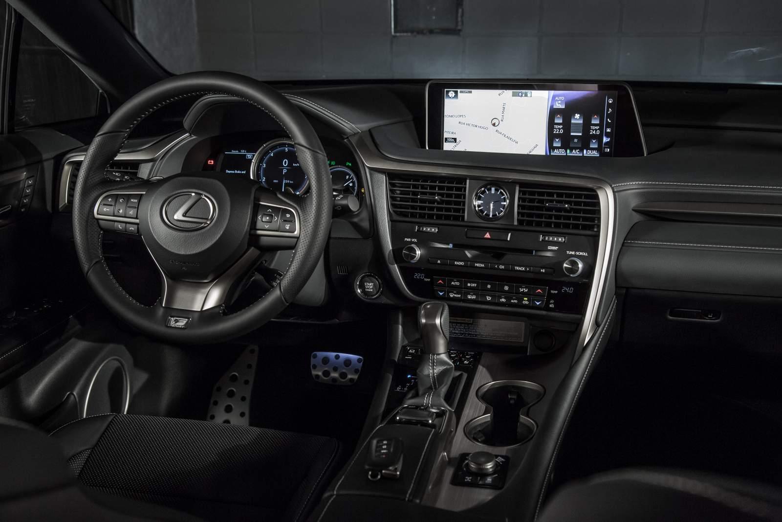 Lexus RX 350 2017   Interior