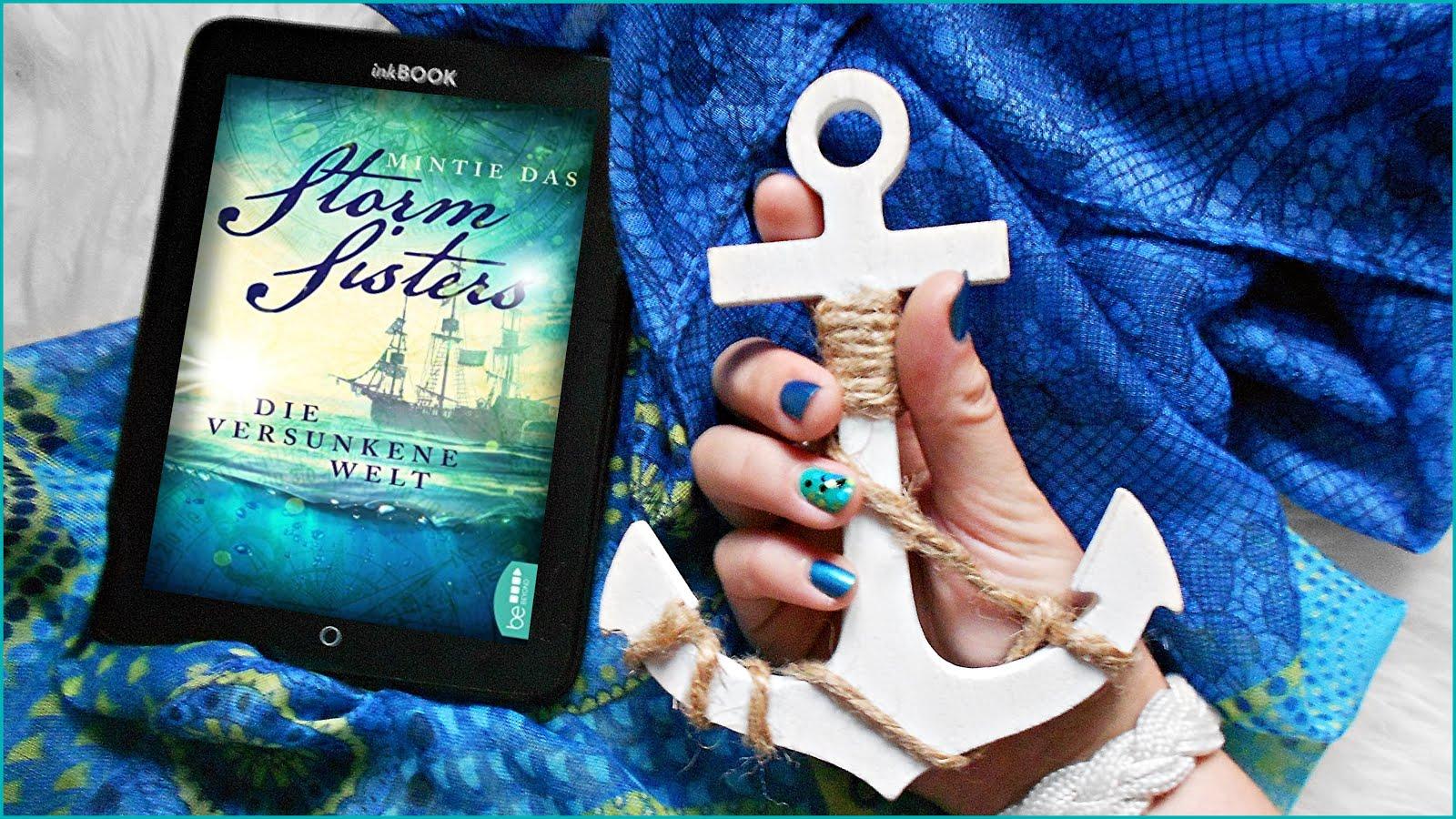 Zitate Storm Sisters Die versunkene Welt Mintie Das beeBooks Piraten Piratinnen Piretten Ozean Meer Indien