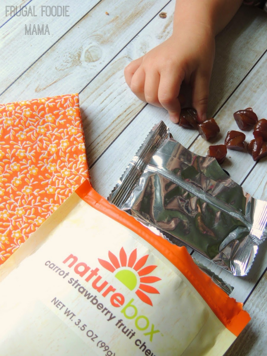 NatureBox- Easy & Healthy Snacking for the Entire Family via thefrugalfoodiemama.com #natureboxsnacks