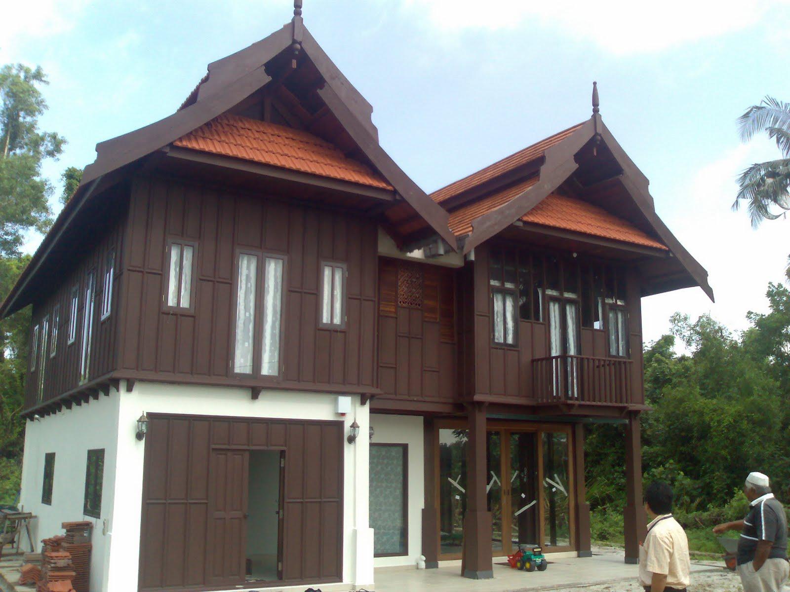 Rumah Melayu Tradisional Terengganu Moden