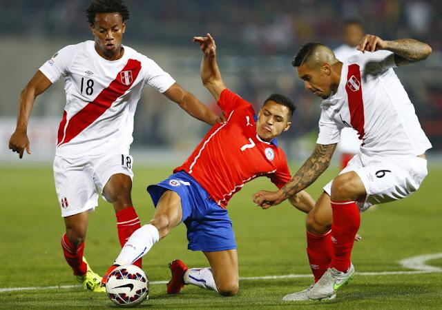 Chile y Perú en Copa América 2015, 29 de junio