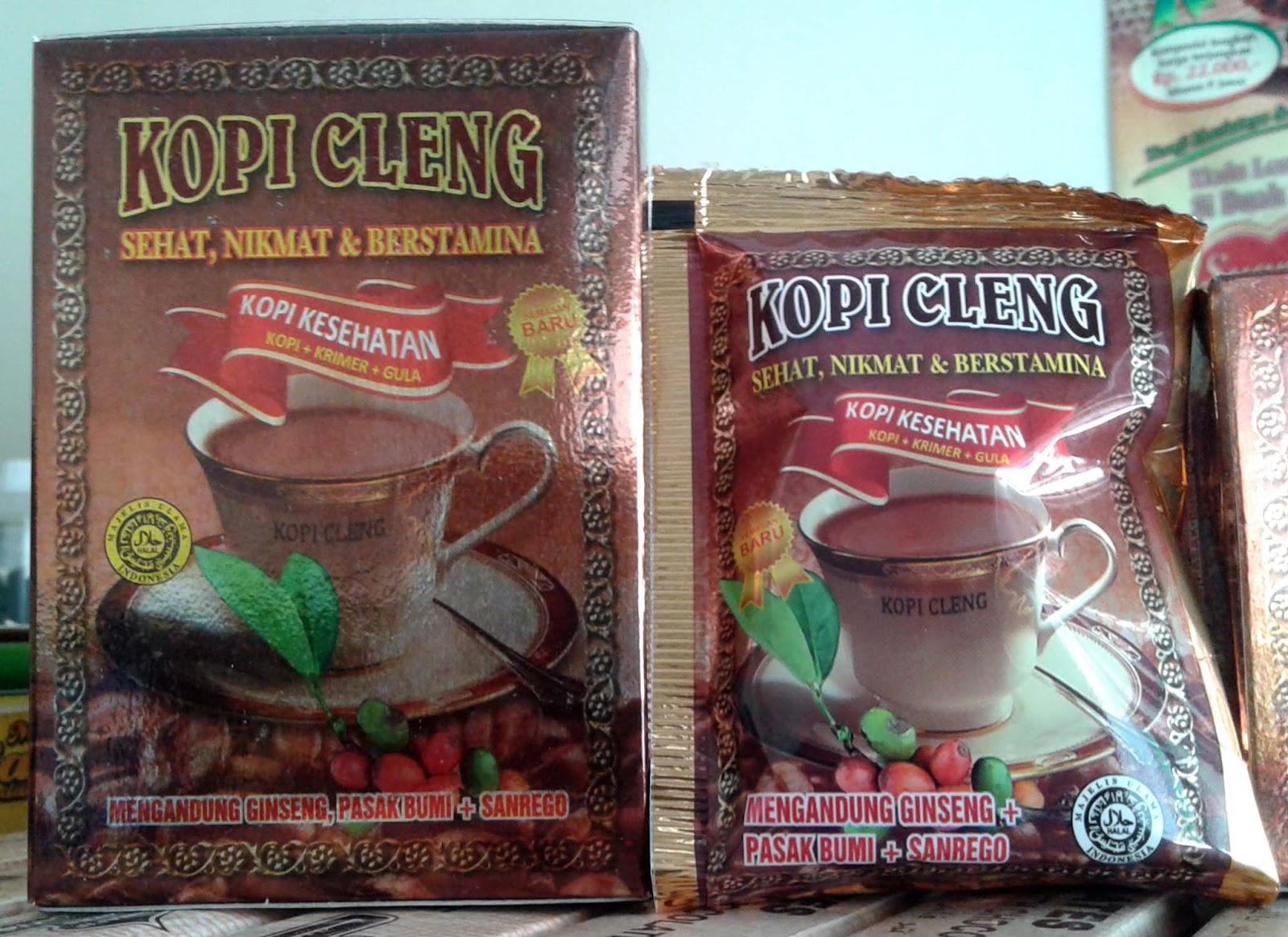 Manfaat KOPI CLENG Dri SANTREGO Supplier JUAL Kopi CLENG