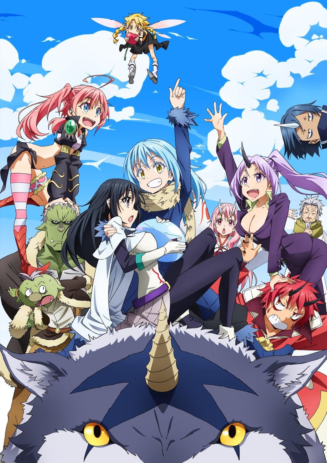 Anime review tensura anime isekai dengan fanservice terbaik
