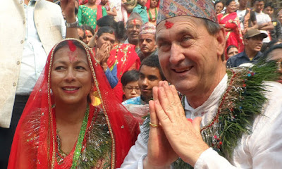 foreigners marriage in Nepal accodring to hindu tradition
