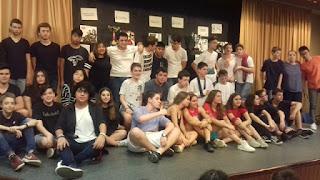 Actors a l'escenari