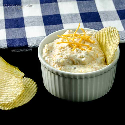 Artichoke Dip with Cheddar Cheese