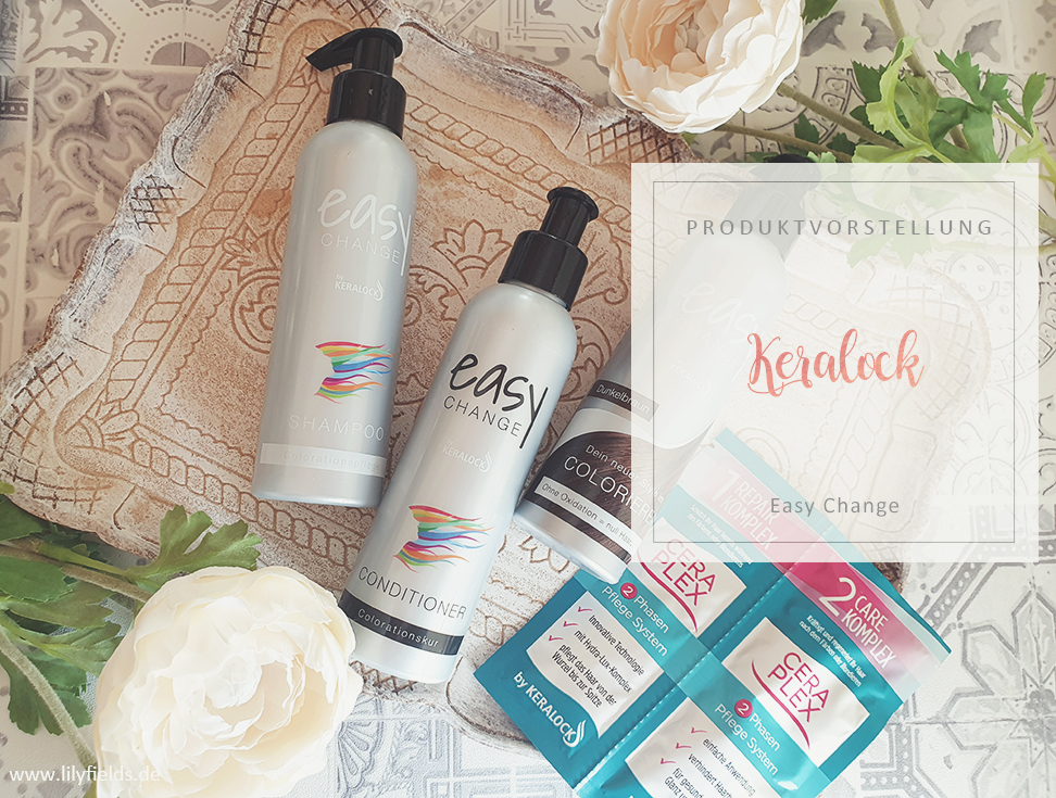 Keralock - Easy Change Shampoo, Conditioner & Colorieren