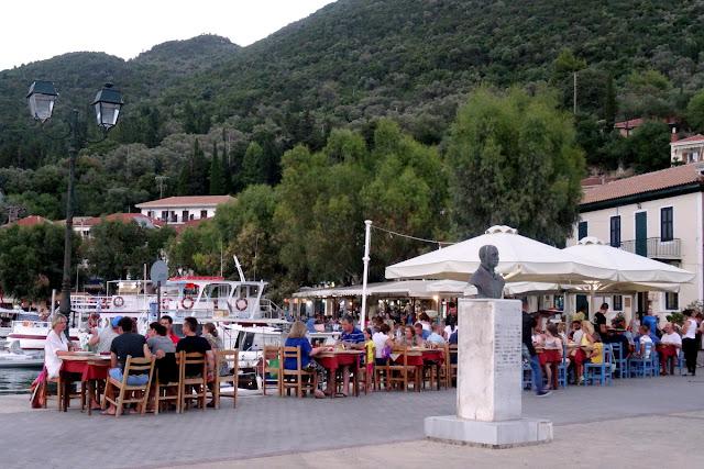 Outdoor dining Vasiliki