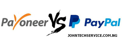 Payoneer Vs Paypal for Nigerians