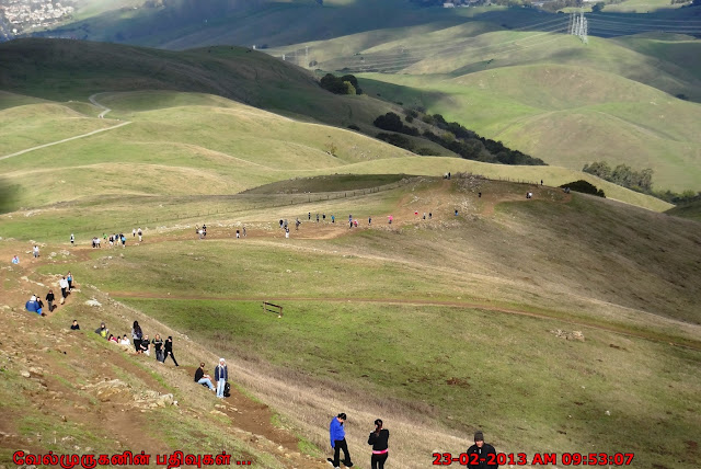 Mission Peak Fremont California Trail