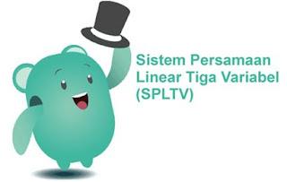 Sistem Persamaan Linier Tiga Variabel (SPLTV) Part 2