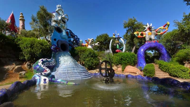 News letter l 39 art et le jardin - Niki de saint phalle jardin des tarots ...