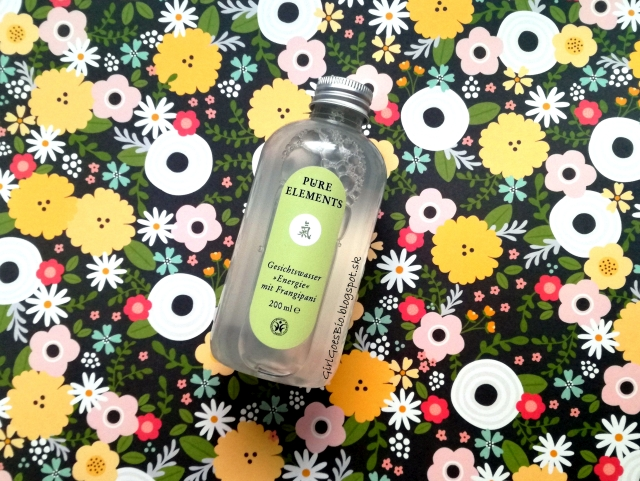 Pure Elements bio cistiaca pletova voda frangipani hamamelis