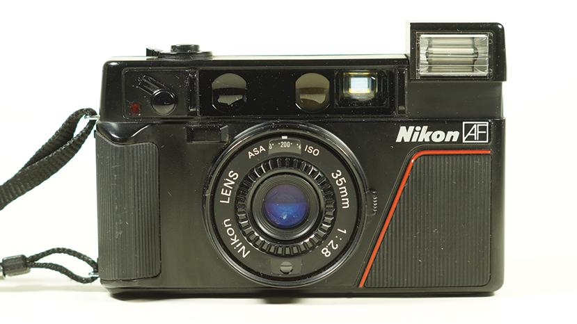 Nikon L35 Ad L35af Film Compact Camera 35mm F28 Nikkor Lens