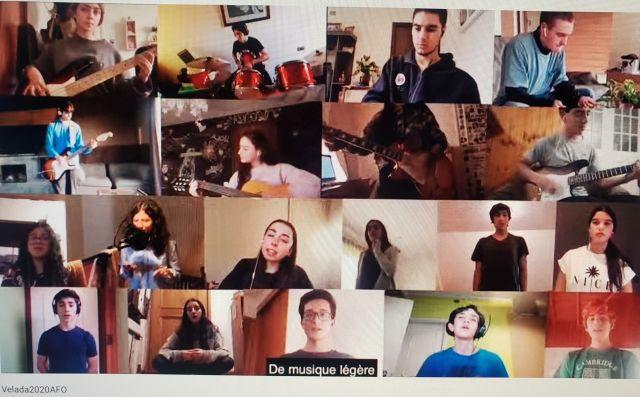 Lycée Claude Gay de Osorno celebra la Fiesta Nacional francesa