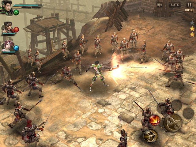 Dynasty Warriors mobile review
