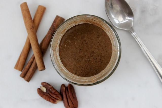 cinnamon pecan nut butter