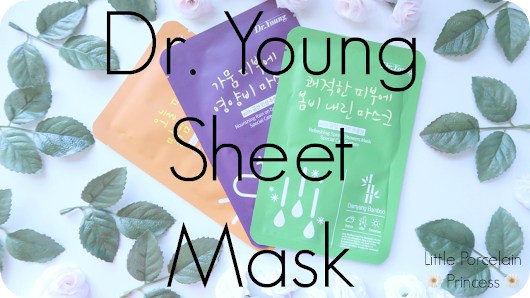 Provided for Review: Dr Young Sheet Mask