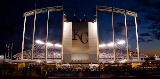 Kansas City Royals are in the World Series