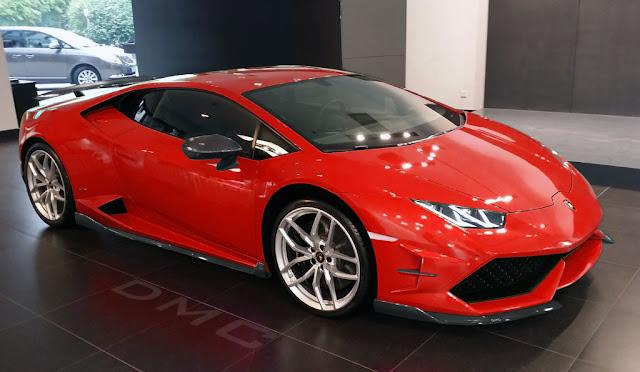 2015 Lamborghini Huracan Red Awesome Wallpaper