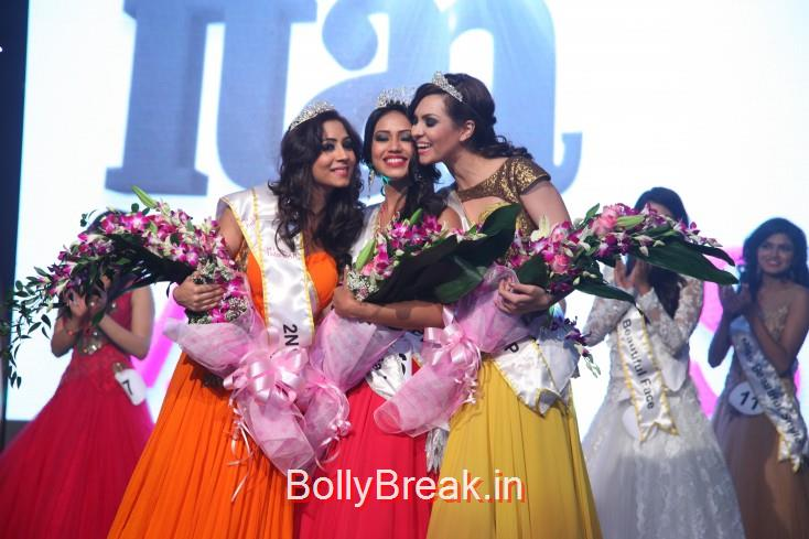 The winners of Miss India UAE 2015