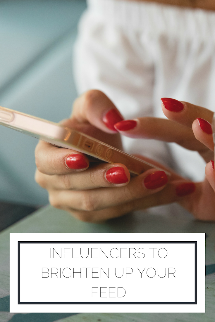 Click to read now or pin to save for later! Here's a roundup of positive influencers you can follow to brighten up your feed!