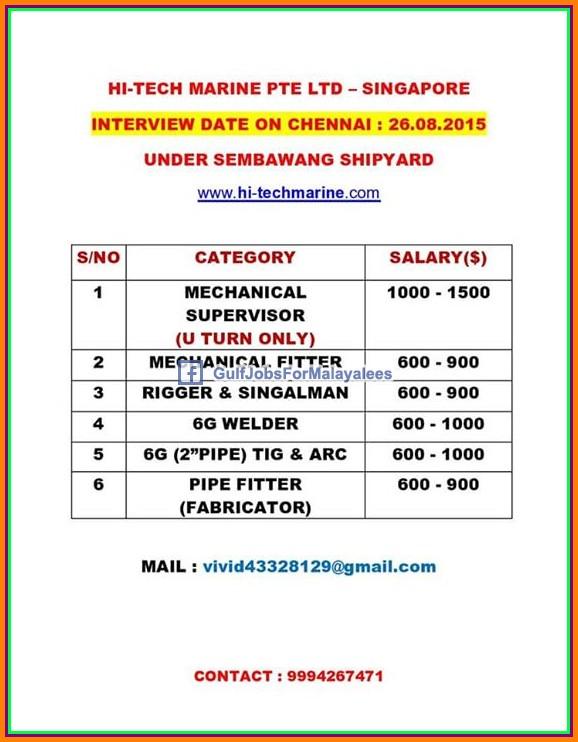 Singapore Shipyard large job vacancies - Gulf Jobs for ...