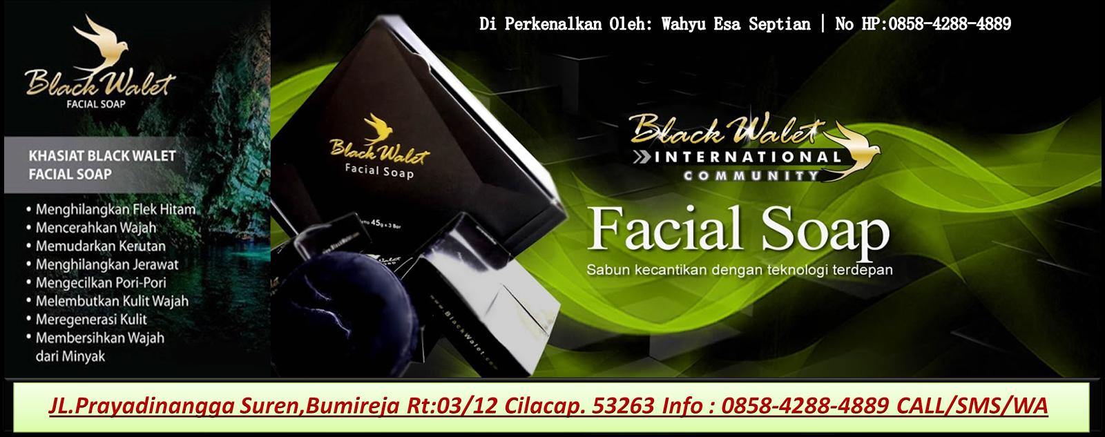 Black Wallet Sabun Kecantikan Bumireja 085842884889 Muka Walet Cilacap