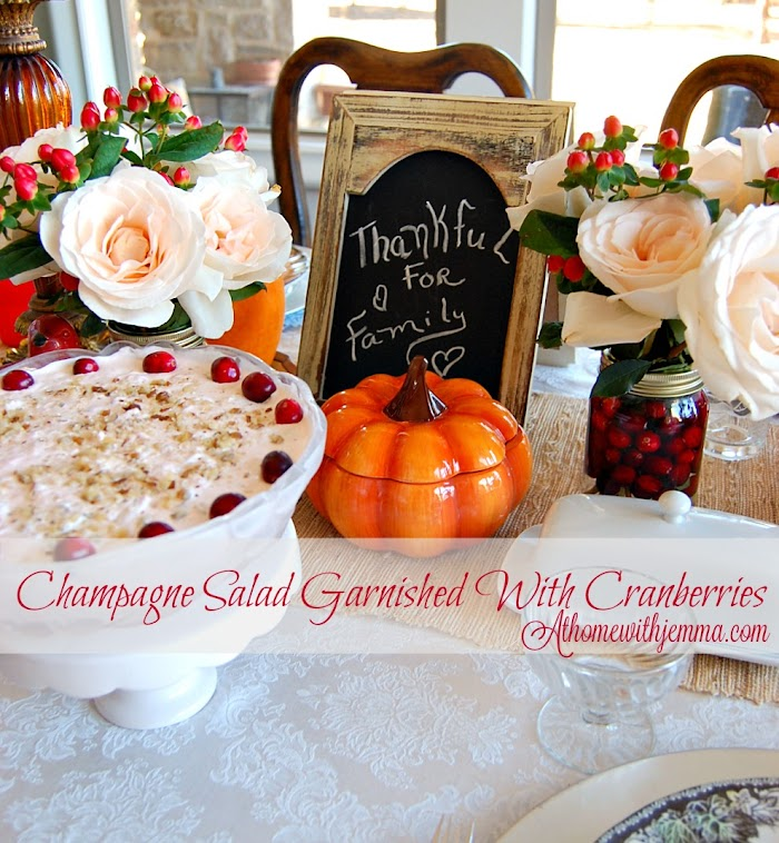 Pretty and Pink Champagne Salad