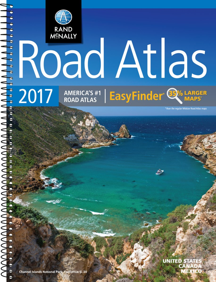 Rand McNally 2017 Midsize Road Atlas